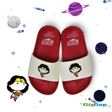 Wonderwoman Chibi Sandals - 5852k