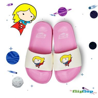 Supergirl Chibi Sandals - 5853k